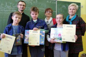 """Wyniki II szkolnego konkursu wiedzowego pt. """"Ewangelia wg św. Łukasza"""""""