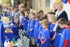 Odwiedziny sześciolatków w naszej szkole