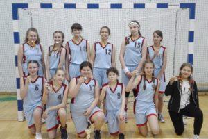II Miejśce Dziewczą w Igrzyskach Miasta Białegostoku w Piłce Ręcznej