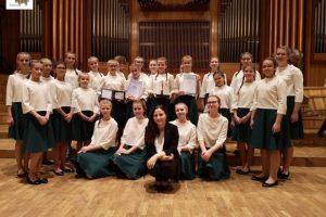 Srebrny Kamerton dla szkolnego chóru