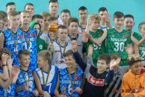 Koszykarze rocznik 2006 w Grodnie