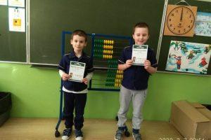 Mali matematycy - klasa 1a
