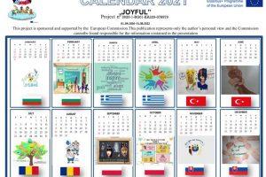 Kalendarz Erasmus+ Joyful2