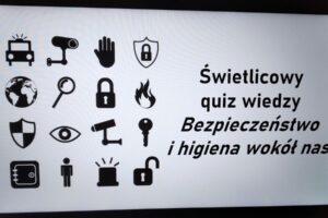 Quiz Bezpieczeństwo i higiena wokół nas